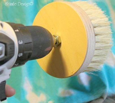 drill attachment wax buffing brush shizzle design online paint sales CeCe Caldwell's chalk clay paints