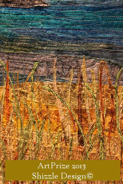 Art Prize 2013  Shizzle Design photos best pictures Grand Rapids Michigan Sleeping Bear Dunes Quilt Winner 3