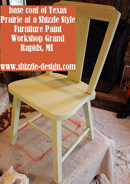 October Workshops #shizzledesign furniture paint workshops chalk clay best Grand Rapids MI how to table #cececaldwells #americanpaintcompany base coat Texas Prairie