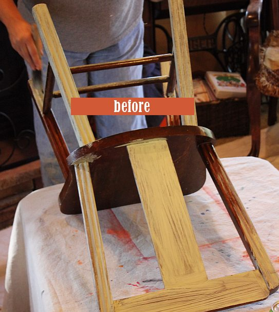 October Workshops #shizzledesign furniture paint workshops chalk clay best Grand Rapids MI how to table #cececaldwells #americanpaintcompany before chair