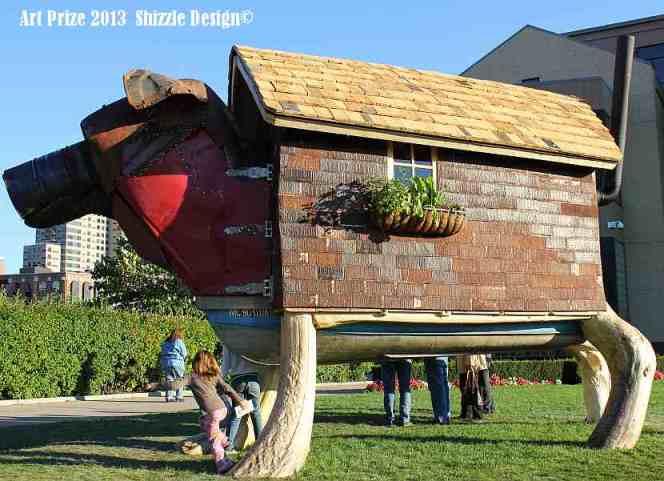 my favorites Art Prize 2013 Grand Rapids Public Art Museum Shizzle Design photos best pictures dog house 2