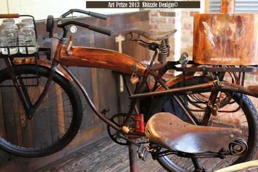 my favorites Art Prize The Bob 2013  Shizzle Design favorites photos best pictures vintage antique bike poacher