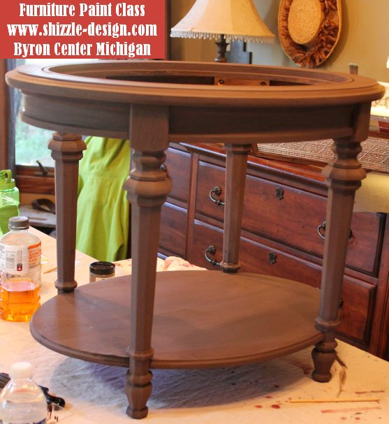 October Workshops #shizzledesign furniture paint workshops chalk clay best Grand Rapids MI how to table #cececaldwells #americanpaintcompany