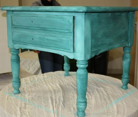 Shizzle Design Furniture Painting Workshop taught at Michigan State University CeCe Caldwell's Chalk Clay Paints ideas colors tables bench end tables tips MSU learn how to 5
