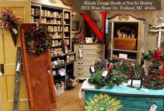 Shizzle Design Painted Furniture 2018 Chicago Drive Jenison Michigan 49428 Christmas Decorations