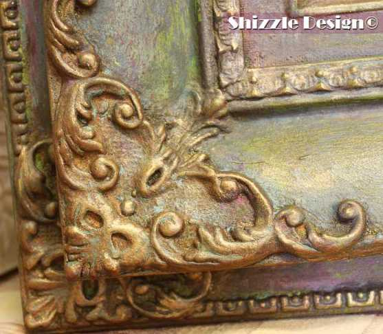 Shizzle Design Painted Furniture American Paint Company's Metallic Mica Powders ideas colors inspiration chalk clay paints