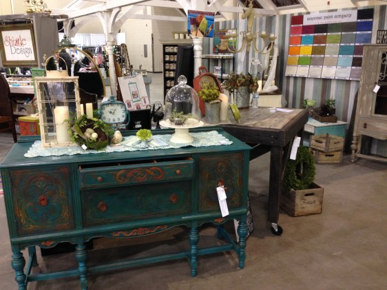 2014 West Michigan's Women's Expo Shizzle Design painted furniture American Paint company Paints 2018 Chicago Dr Jenison, MI  49428 DeVos Grand Rapids 2 - Copy