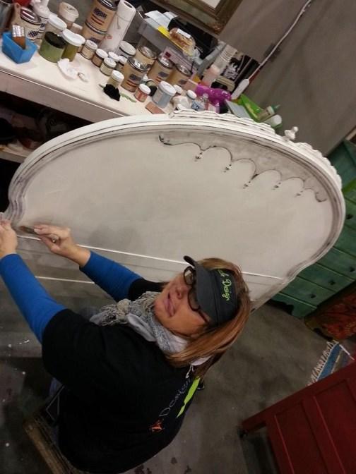 2014 West Michigan's Women's Expo Shizzle Design painted furniture American Paint company chalk clay mineral Paints 2018 Chicago Dr Jenison, MI  49428 DeVos Grand Rapids 12 - Copy - Copy - Copy