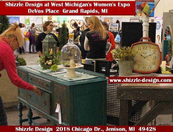2014 West Michigan's Women's Expo Shizzle Design painted furniture American Paint company chalk clay mineral Paints 2018 Chicago Dr Jenison, MI  49428 DeVos Grand Rapids 32 - Copy - Copy