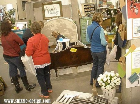2014 West Michigan's Women's Expo Shizzle Design painted furniture American Paint company chalk clay on stage 2018 Chicago Dr Jenison, MI  49428 DeVos Grand Rapids 26 - Copy