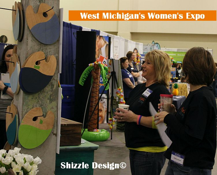 west michigan's women's expo featured speaker shizzle design