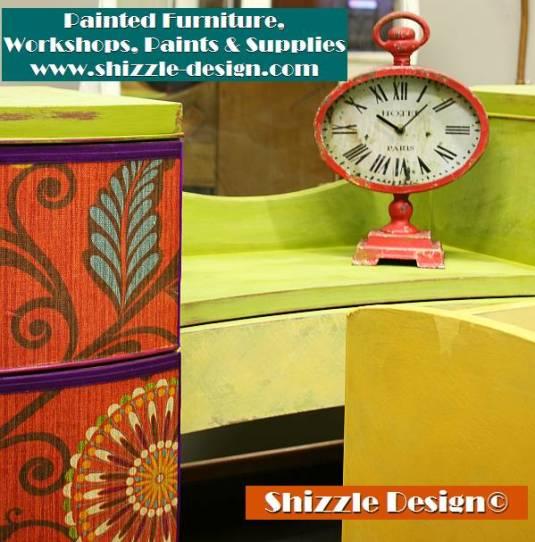 Shizzle Design chalk clay paint Grand Rapids MI American Paint Company green painted vanity colorful workshops 2018 chicago dr., Jenison, MI  49428 waist coat bordello vanity