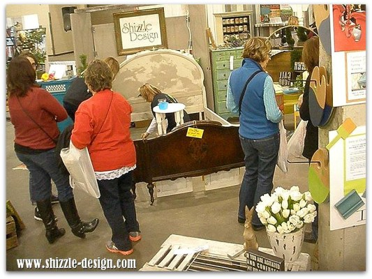 2014-West-Michigans-Womens-Expo-Shizzle-Design-painted-furniture-American-Paint-company-chalk-clay-on-stage-2018-Chicago-Dr-Jen