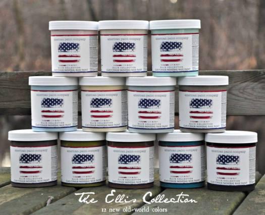 Ellis Collection - American Paint Company's Limited Edition Shizzle Design 2018 Chicago Drive Jenison Michigan 49428 www.shizzle-design.com jars - Copy