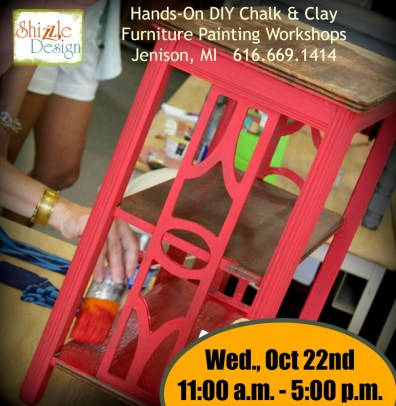 best chalk clay paint classes Grand Rapids Jenison Michigan DIY how ideas color inspiration painted furniture workshops 32