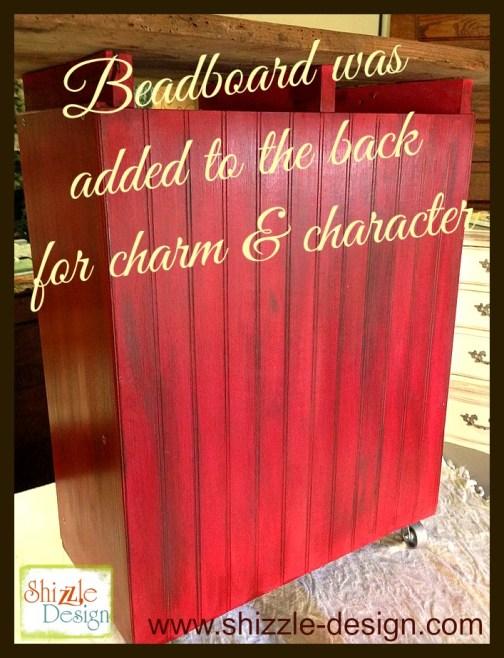 Ikea Hack Junk Gypsies Kitchen Island red chalk paint ideas shizzle design beadboard barn wood