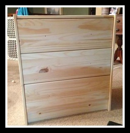 Ikea Rast Dresser Hack before shizzle design
