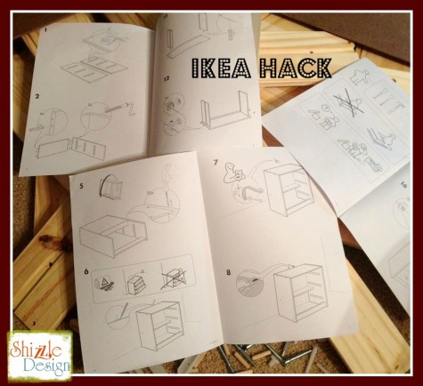 Ikea dresser hack shizzle design kitchen island cart red