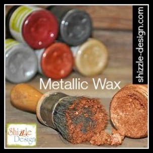 Metallic Bronze Silver Gold Pewter Smoke Copper Wax Shizzle Design Largest Selection Chalk Clay Mineral Paints Grand Rapids Michigan Paint supplies Retailer where buy