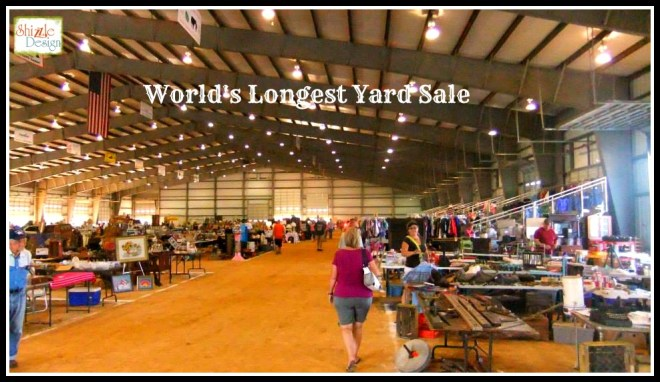 #worldslongestyardsale 2013 Shizzle Design #paintedfurniture #americanpaintcompany #CeCecaldwell #paint Highway 127 vendors Agricultural 2