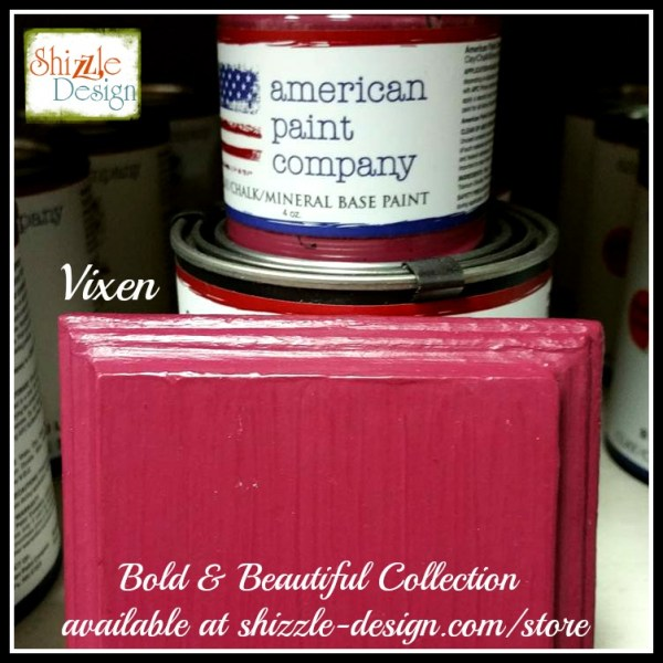 Bold Beautiful Collection by American Paint Company Chalk Clay Paint Shizzle Design retailer Grand Rapids Michigan - Vixen purple pink