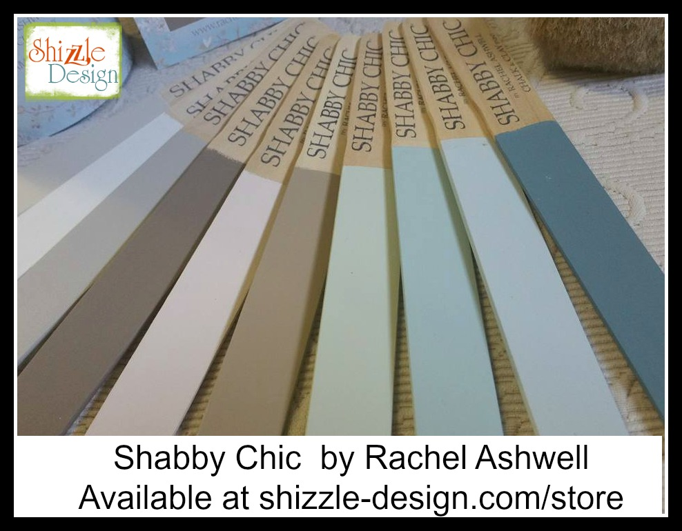 Shabby Chic Colors For Furniture : Shizzle design bow front dresser painted in shabby chic chalk