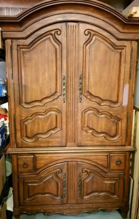 Shizzle Design Beautiful French Country Wardrobe Painted