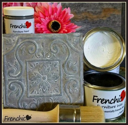Frenchic Furniture Paint Lady Gray Posh Nelly Rustic White Wax best easy to use Shizzle Design Distributor Jenison Michigan