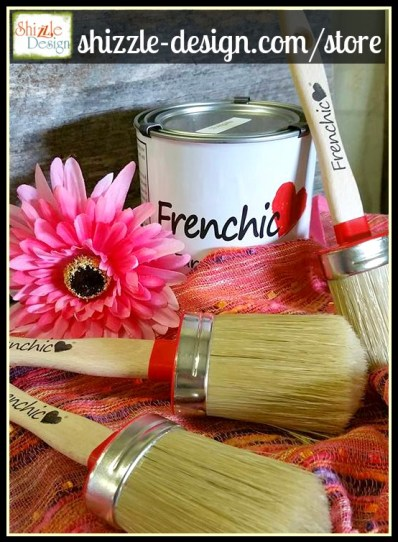 Frenchic - Oval chalk clay mineral furniture Paint Brushes best quality shizzle design 4