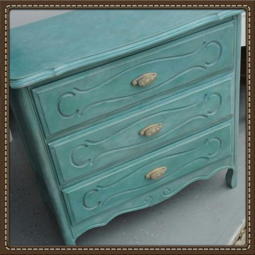 Frenchic Furniture Paint - 1 Anguilla, Rustic Wax, White Wax, painted furniture, dresser, shizzle design, paint supplies, michigan, usa