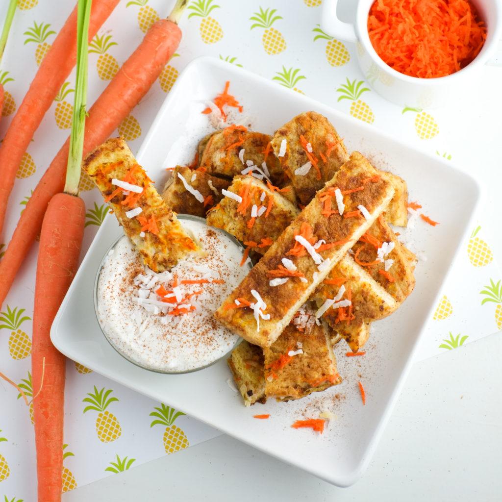 Carrot Cake French Toast Sticks Recipe