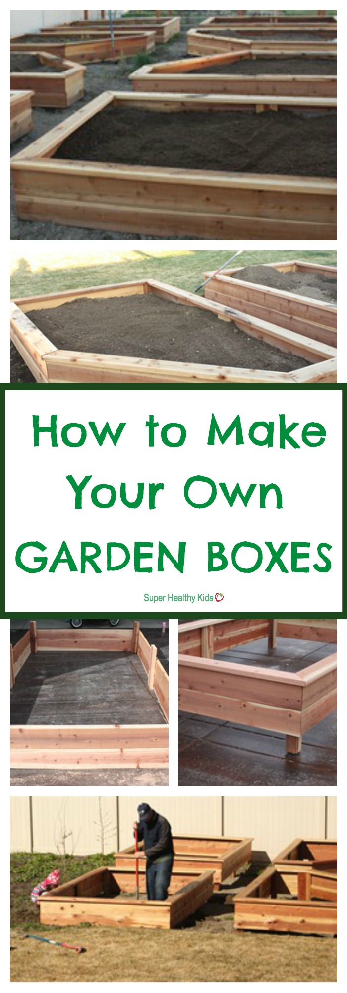 Make Your Own Raised Garden Box