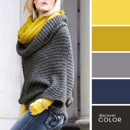 How to combine colors in clothes. 20 is perfect