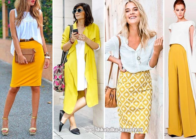 color matching clothes yellow