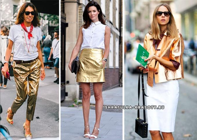 combination of colors in clothes golden