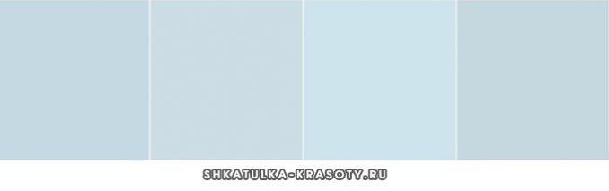shades of gray blue