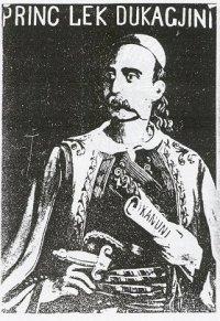 Princ Lekë Dukagjini - pikturë nga Simon Rrota