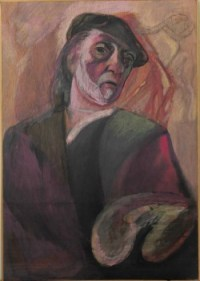 Lin Delija, autoportret
