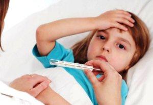 Повышение температуры тела у ребёнка. Как действовать правильно…