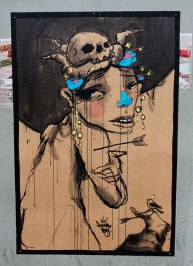 Street art by Johnny Boy.