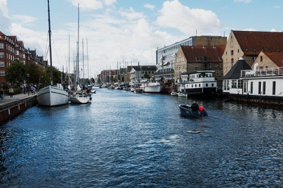 The canal of Christianshavn. If I were living in Copenhagen, this would be the area to settle. I'm sure the cost reflects that.