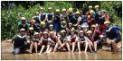 Our class right after rafting.