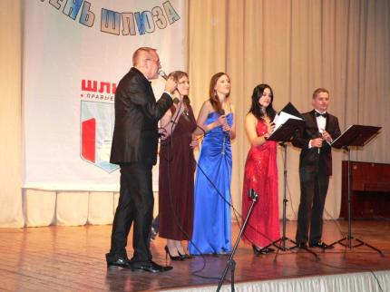 Шлюзовчан поздравляет Павел Шаромов