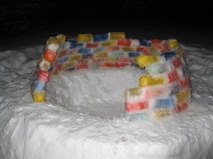 Ледяной дом на Шлюзе