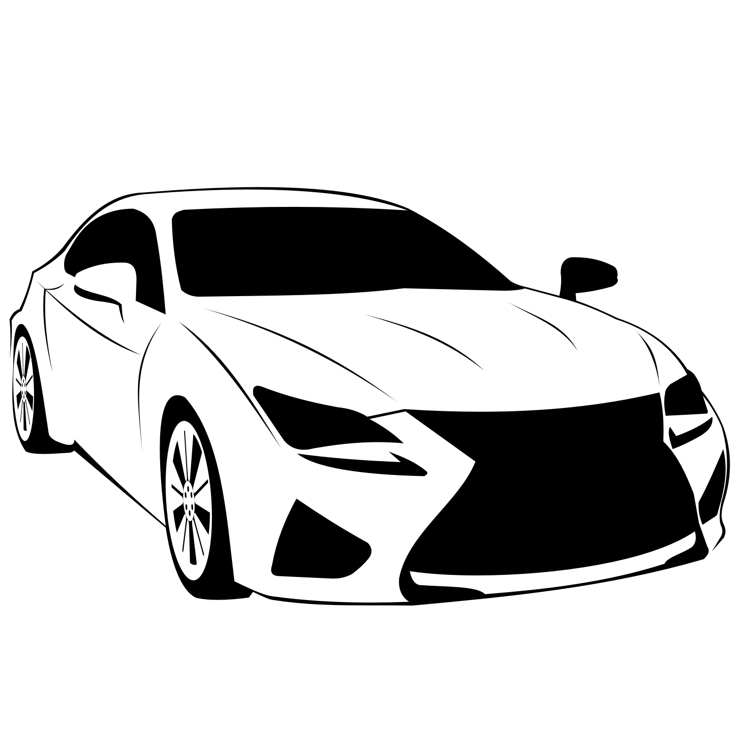 Vector For Free Use Lexus Rc F