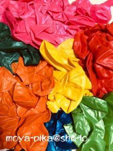 色とりどりの風船