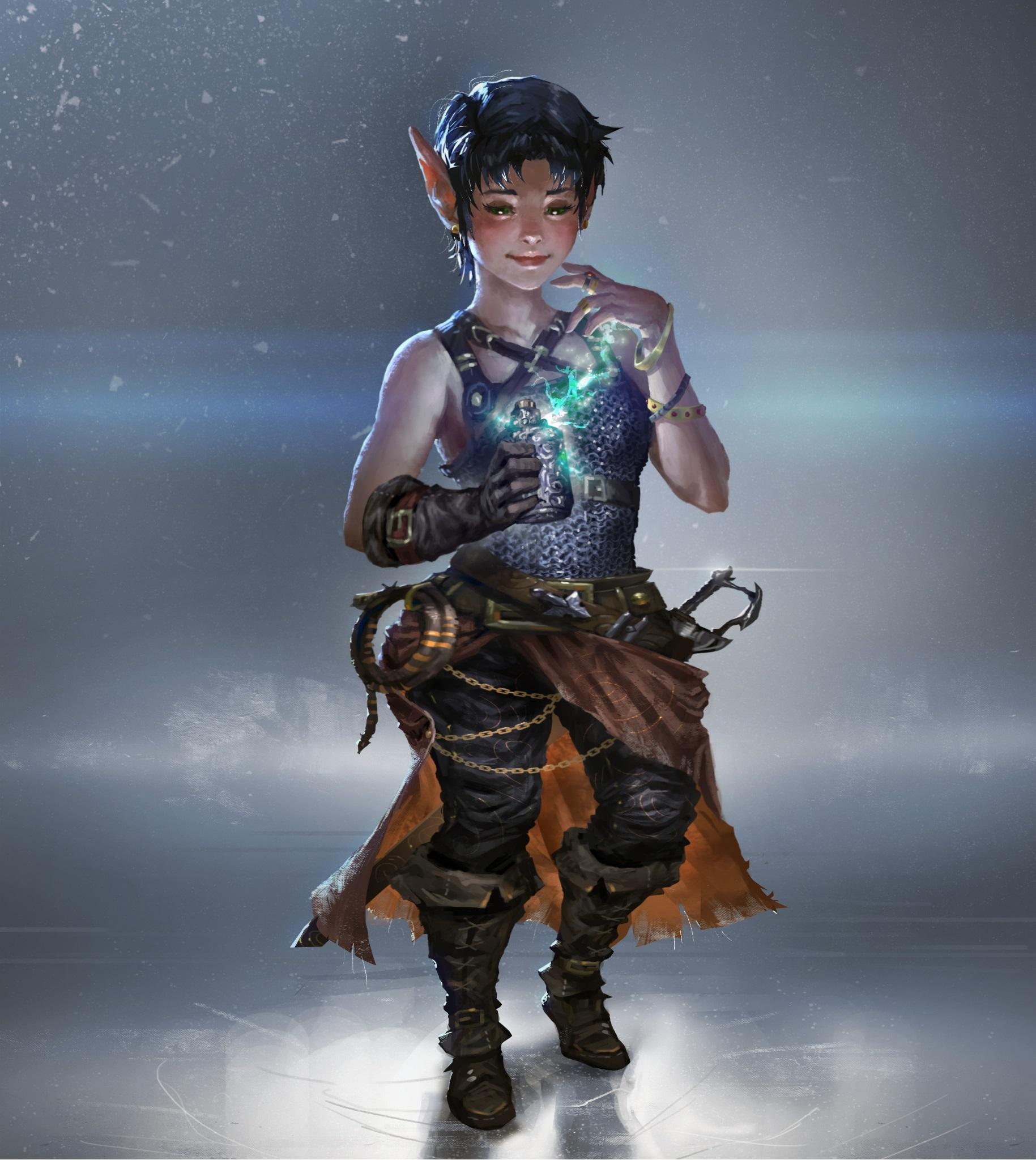 Female Gnome: Dnd Female Gnome Wizard