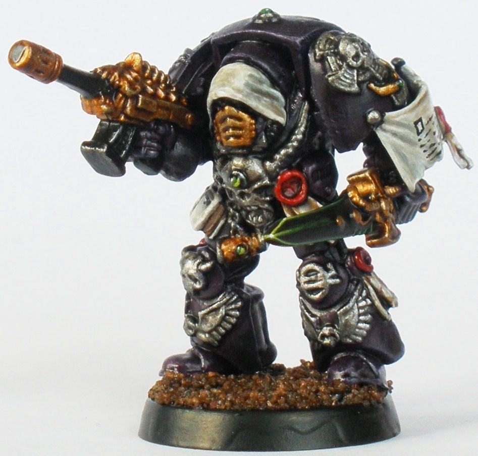 Ordo Malleus Inquisitor in terminator armour.