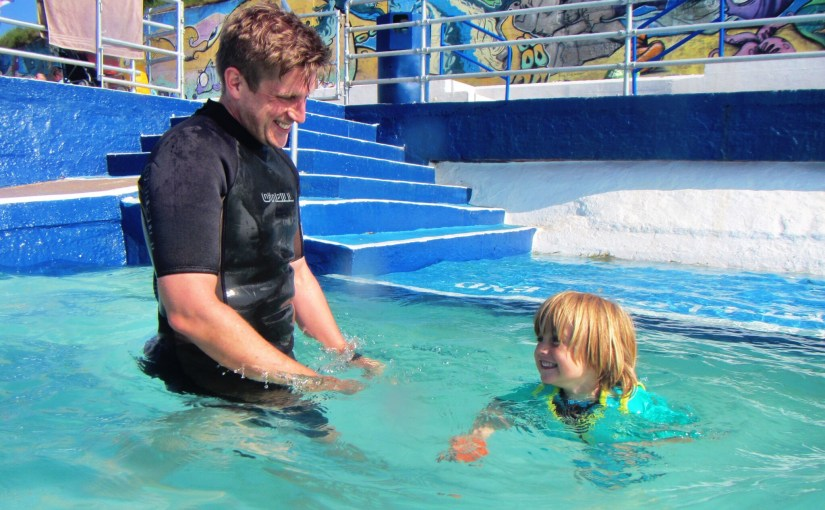 Supervision of children at Shoalstone Pool