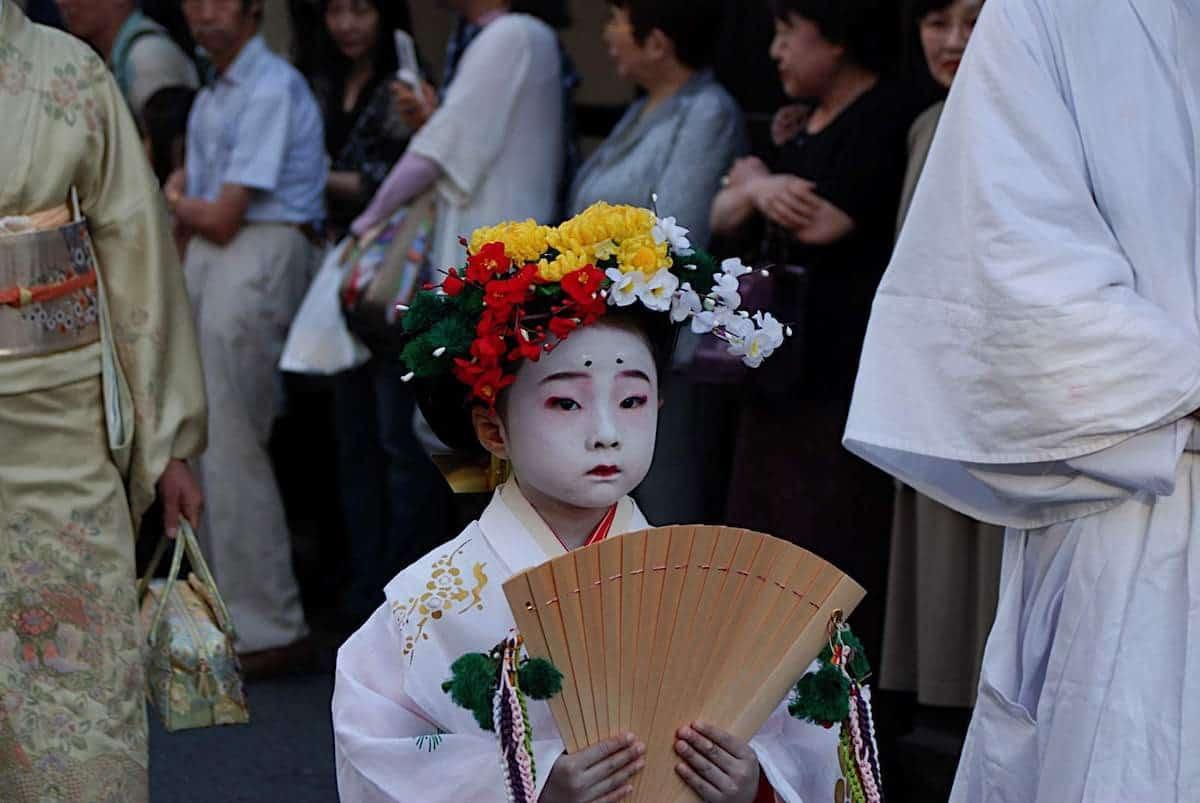 Kyoto street parade. Photo by Shoba Narayan